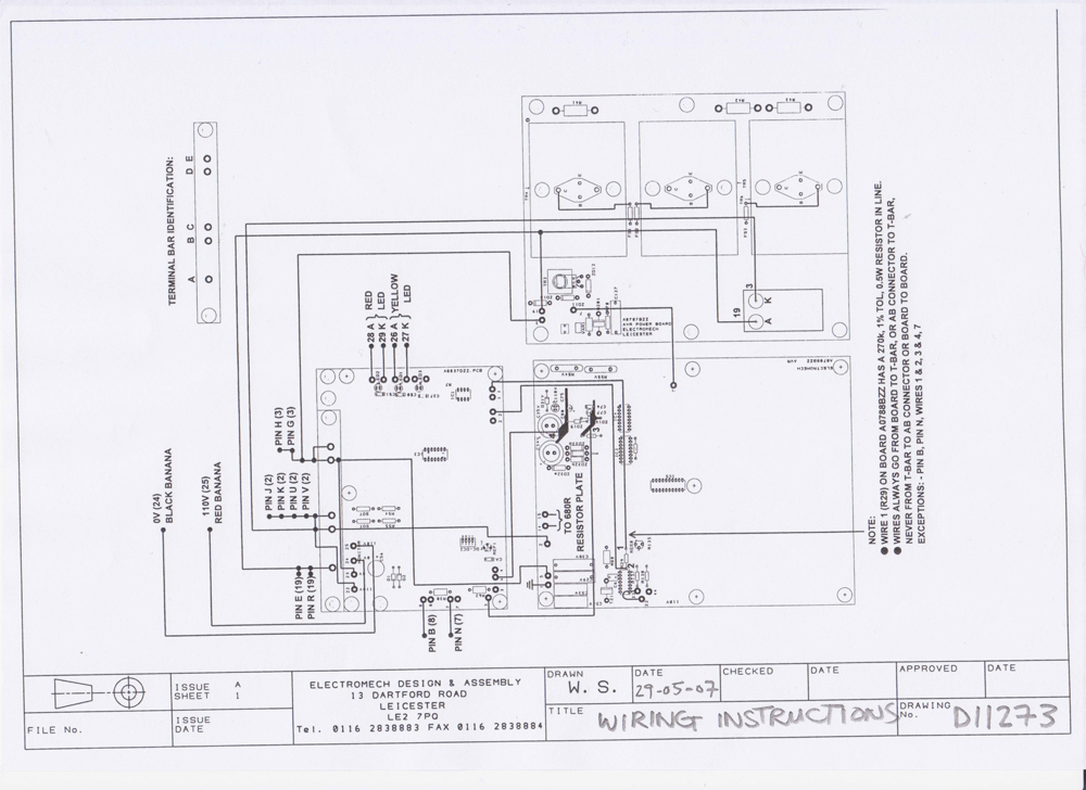 sander wiring diagram