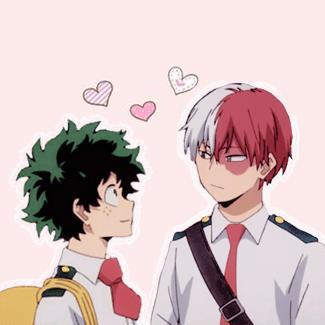 Very Cute Couple Wallpaper Tododeku 』