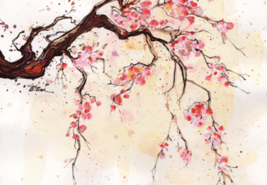 How To Paint A Cherry Blossom Tree On A Wall
