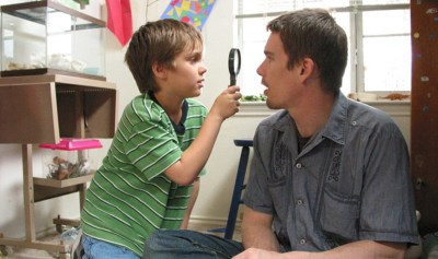 Ellar Coltrane and Ethan Hawke were filmed for 12 years for Boyhood