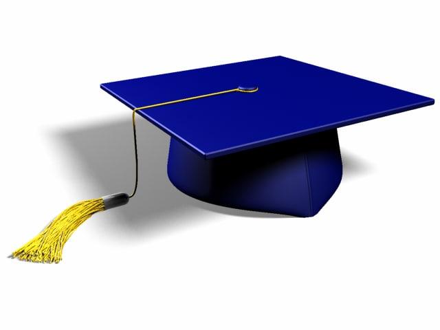 graduation cap max