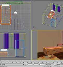 teen bedroom diagram [ 999 x 800 Pixel ]