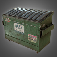 dumpster 3d models for