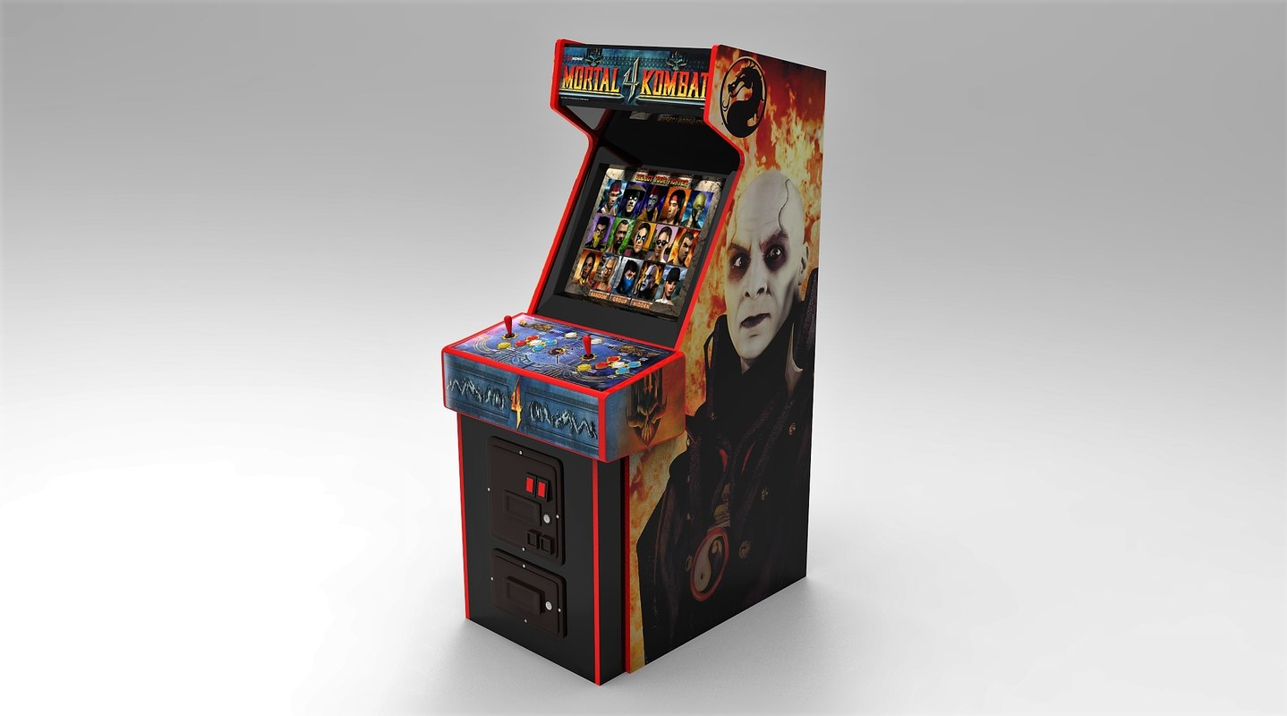 mortal kombat 4 arcade
