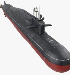 3d russian nuclear strategic submarine [ 1480 x 800 Pixel ]