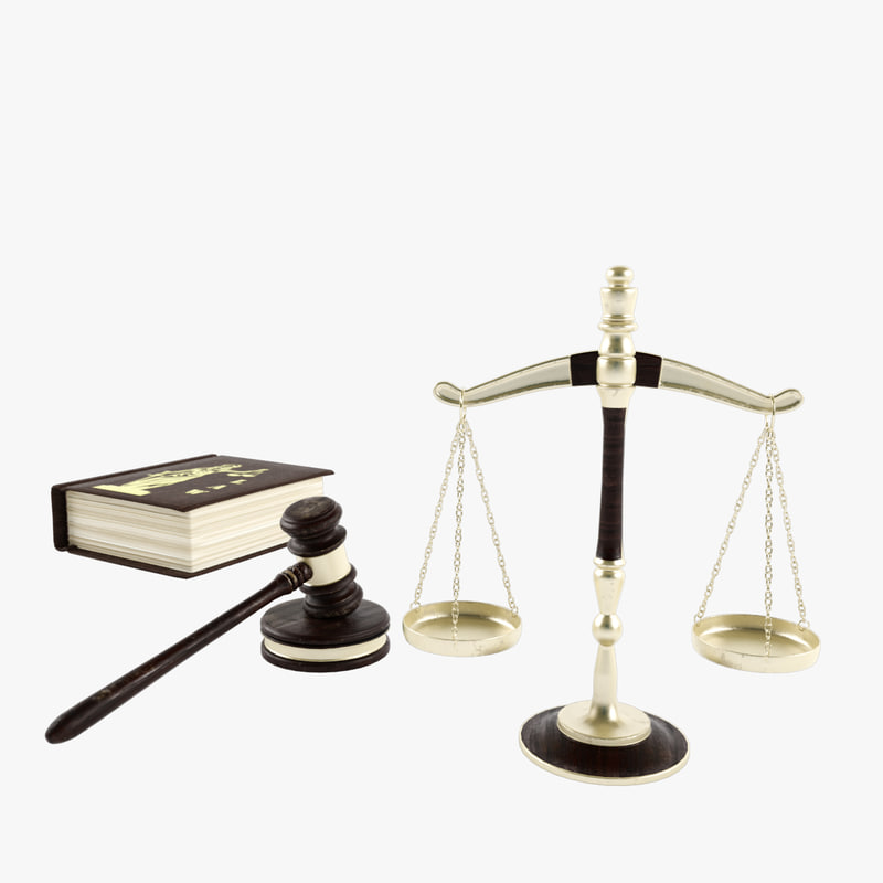 legal scales gavel law