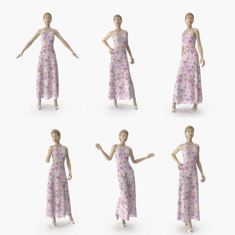 showroom mannequin 036 poses