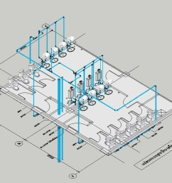 sanitary pvc pipe fitting 3d  [ 1480 x 679 Pixel ]
