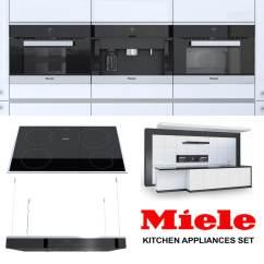 Miele Kitchen Appliances 27 Sink Set 3d Model Turbosquid 1165340