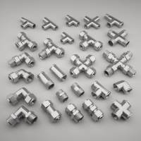 3D pipe fittings - TurboSquid 1184084