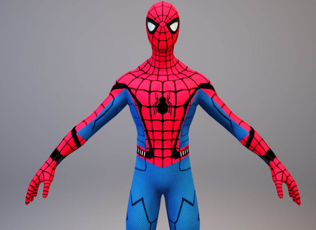 Spider Man Franchise 3d Models For Download Turbosquid