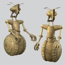 3d Star Wars Rickshaw Droid - Turbosquid 1194722