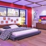 Modelo 3d Modelo De Dormitorio Con Muebles Completos Con Todo Matrial Turbosquid 1199015