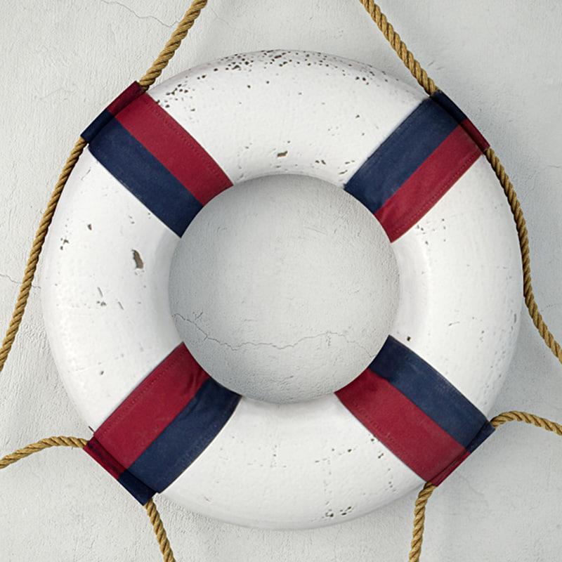 nautical life ring decor