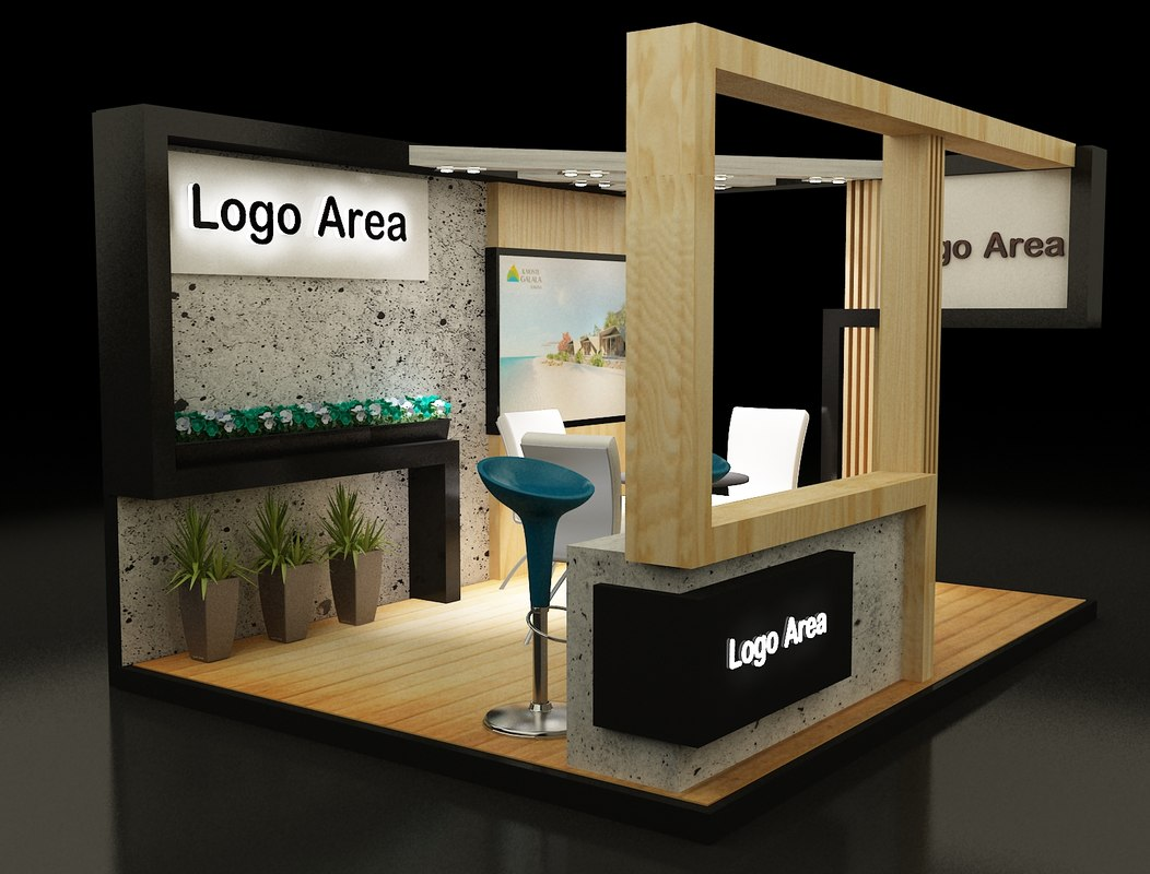 Exhibition Stand 3d Model Free Download : Free download d models booth year of clean water