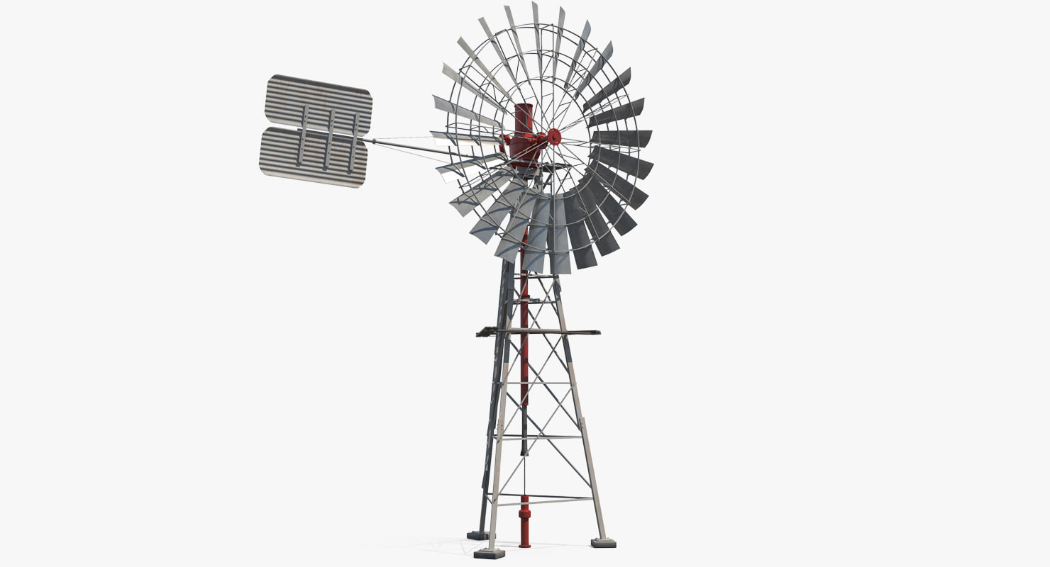 3d Comet Windmill Model
