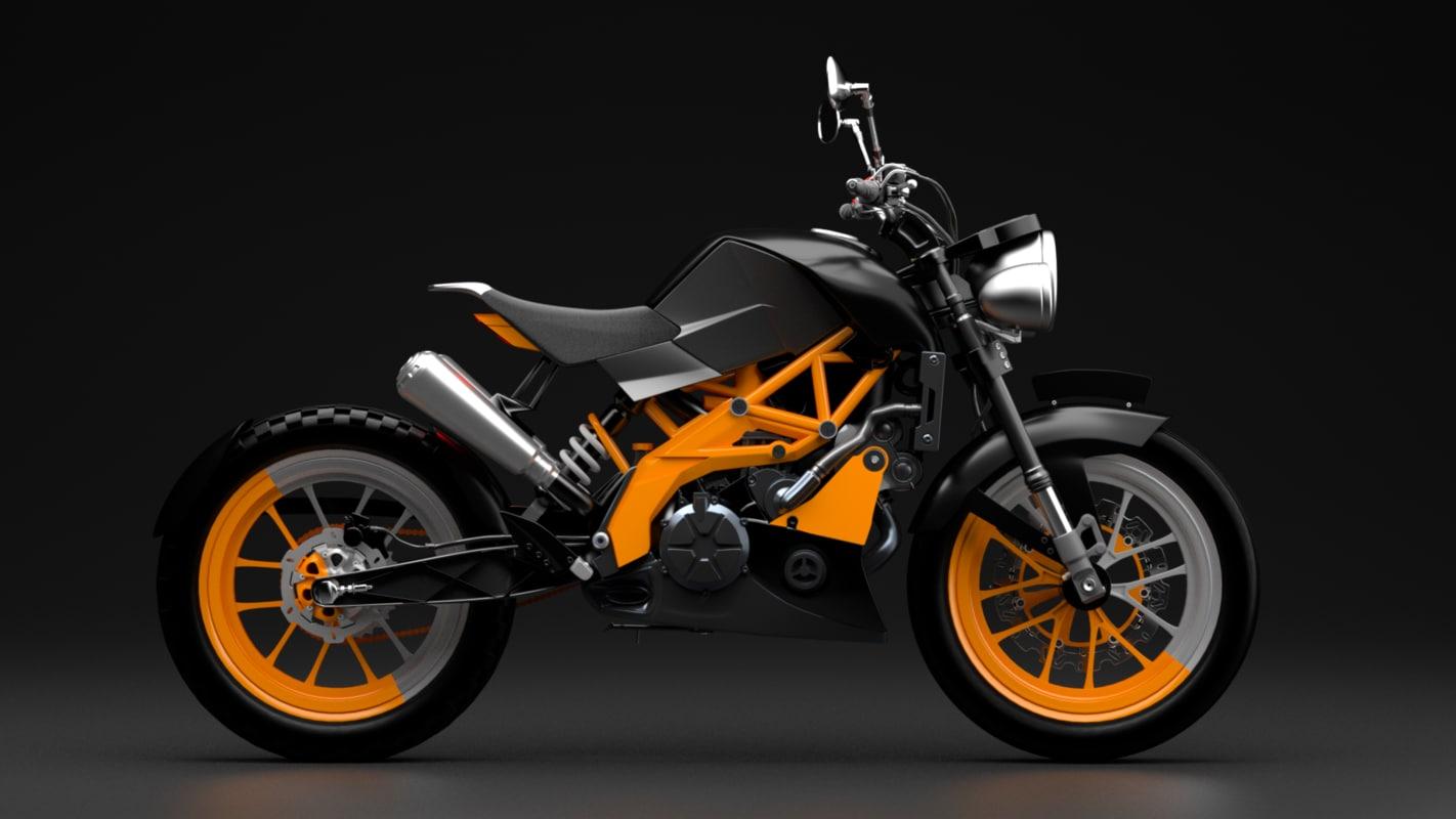 motor bike duke