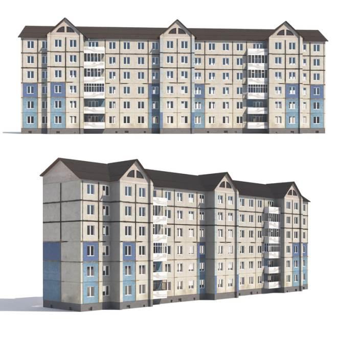 Prefabricated Apartment Building