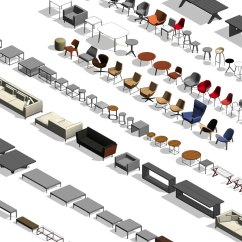 Swing Chair Revit Family Lounge Covers For Sale Furniture Model Turbosquid 1234720