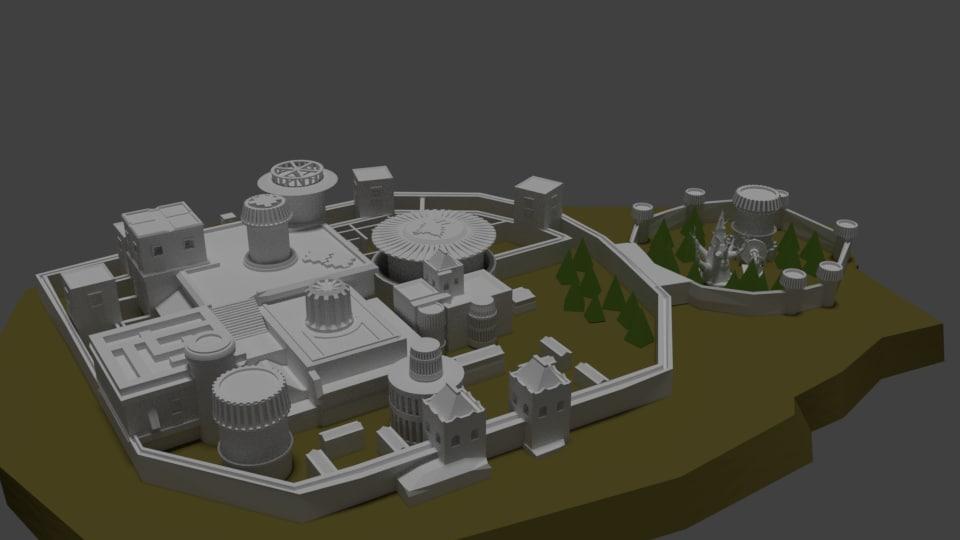 3D Castle Winterfell Model TurboSquid 1245051