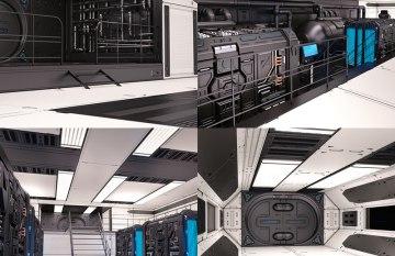 Fi Sci Spaceship Interior Design Pro | Interior Design Images