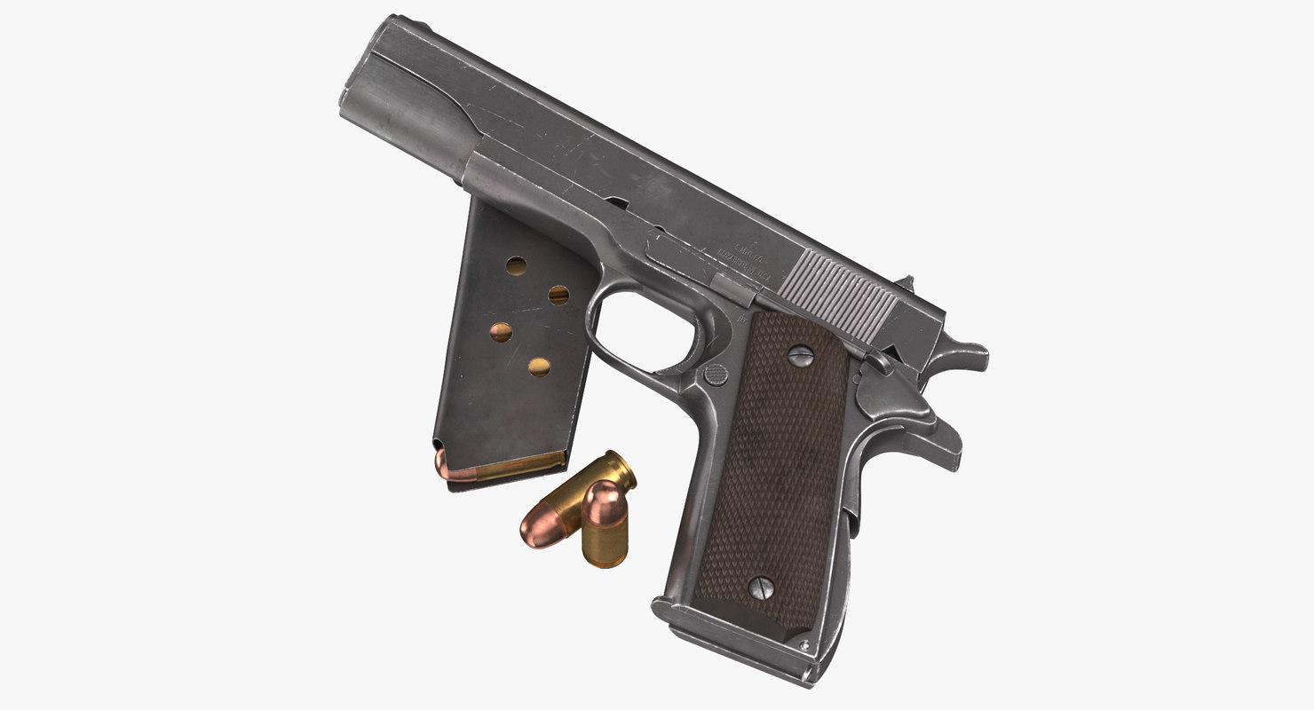 colt m1911 pistol magazine