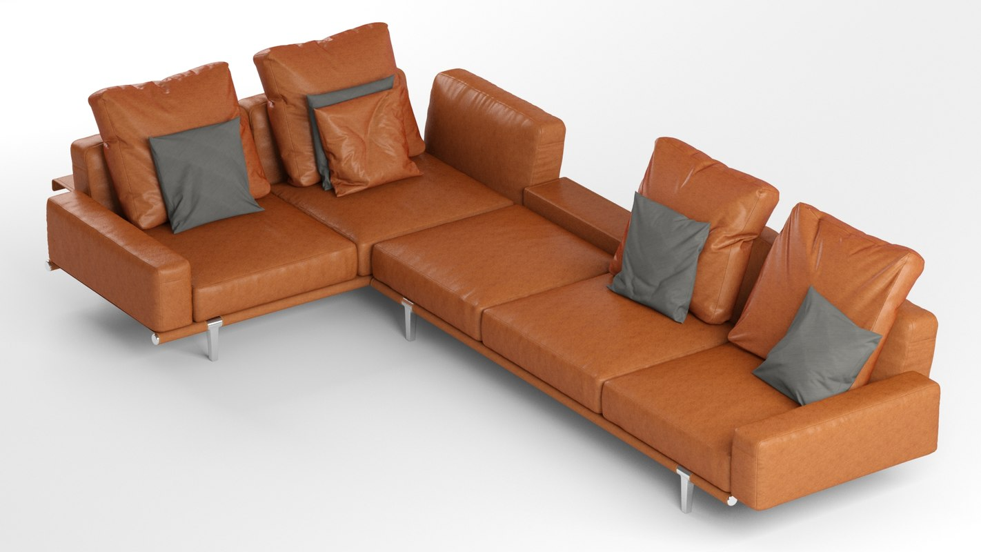 poltrona frau sofa review covers ready made south africa let model turbosquid 1278344