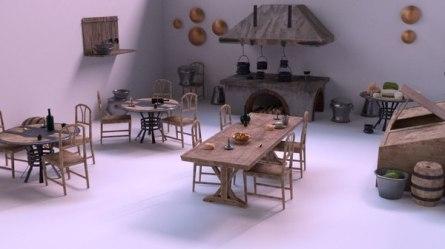 Fantasy Medieval Kitchen