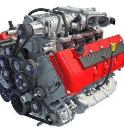 3d model v8 car engine interior parts [ 1000 x 800 Pixel ]
