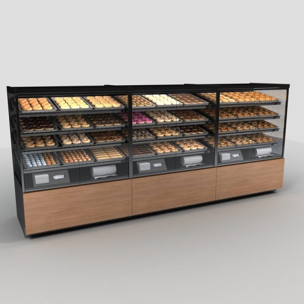 Bakery Donut Display Case