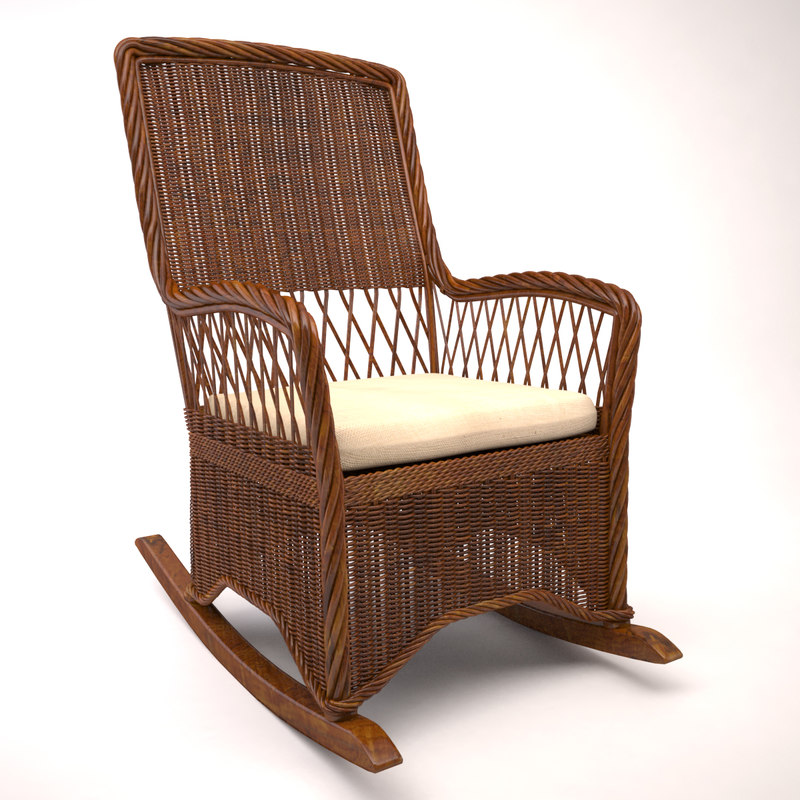 Wicker Rocking Chair Wicker Rocking Chair