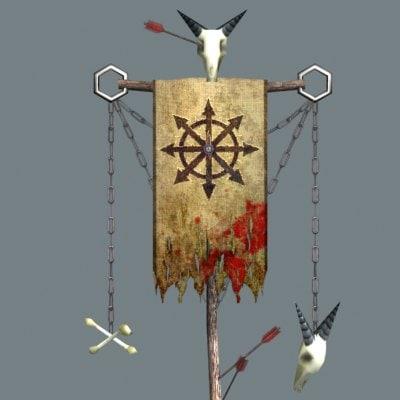 free flag banner 3d