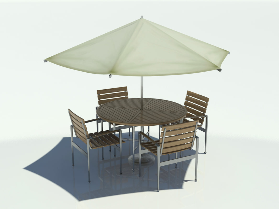swing chair revit family stand rikli outdoor table umbrella 3d max
