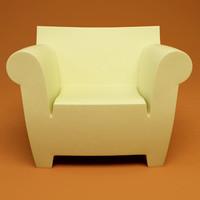 bubble club chair replica mexican hammock 3d