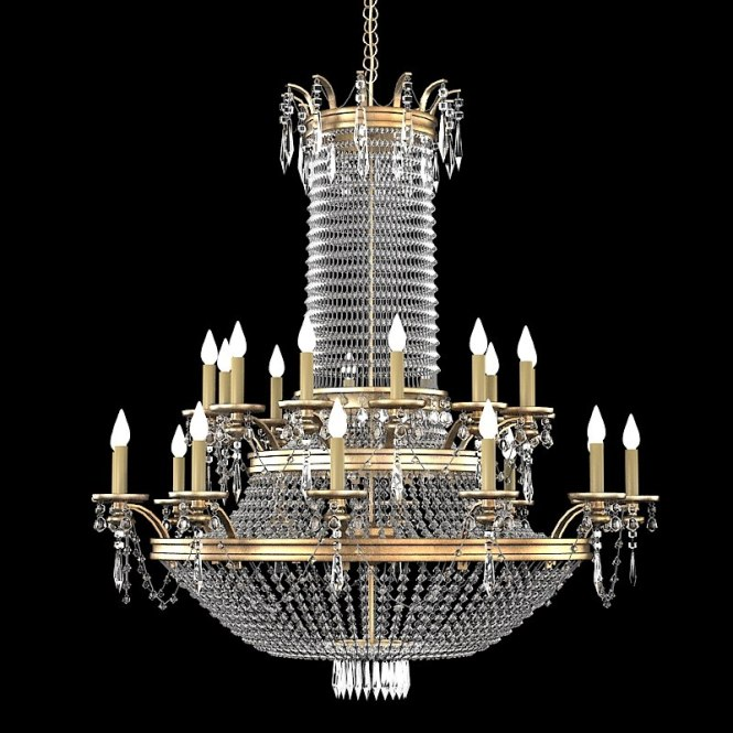 Crystal Classic Chandelier