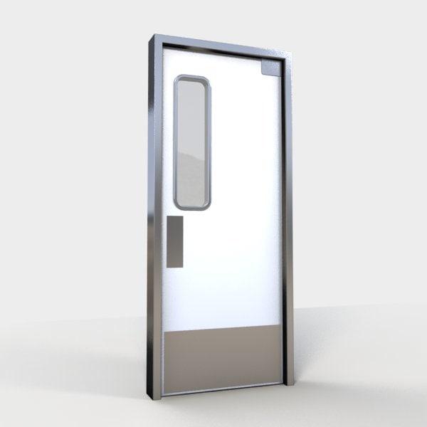 commercial kitchen doors diamond cabinets door 1 3d x