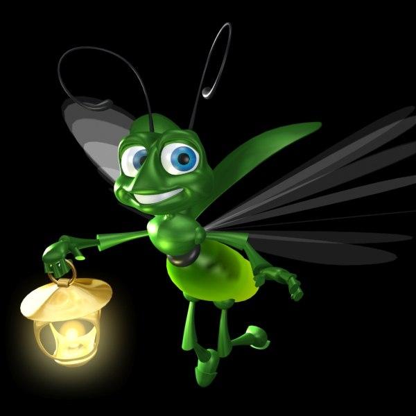 Flashlight 3d Wallpaper Max Cartoon Firefly
