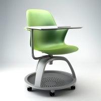 node chair steelcase 3d max