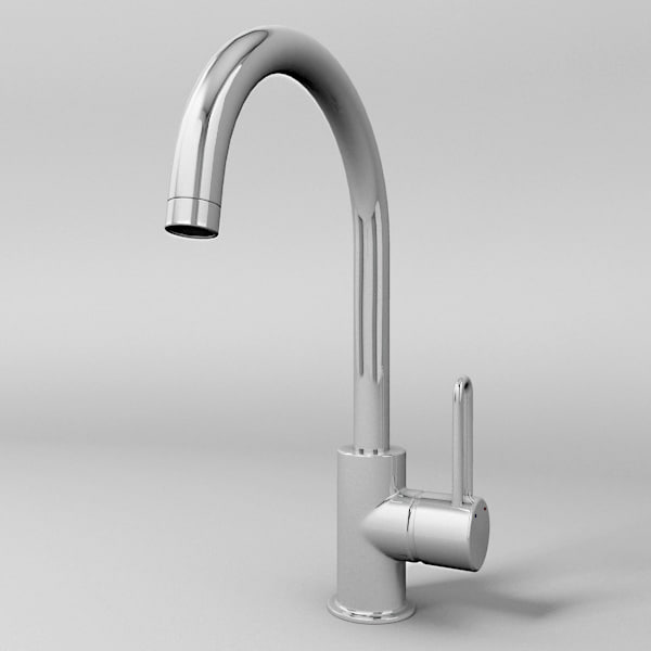 motion faucet kitchen chairs for 3d model