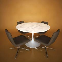 Tulip Table And Chairs Tables Rental 3d Model