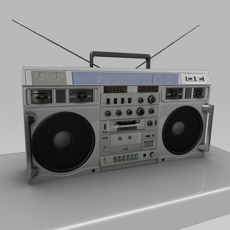 boombox stereo conion c100f