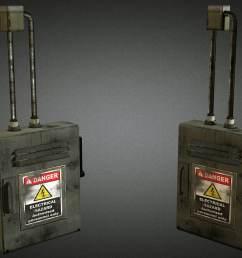 electric fuse box 01 3d model [ 1422 x 800 Pixel ]