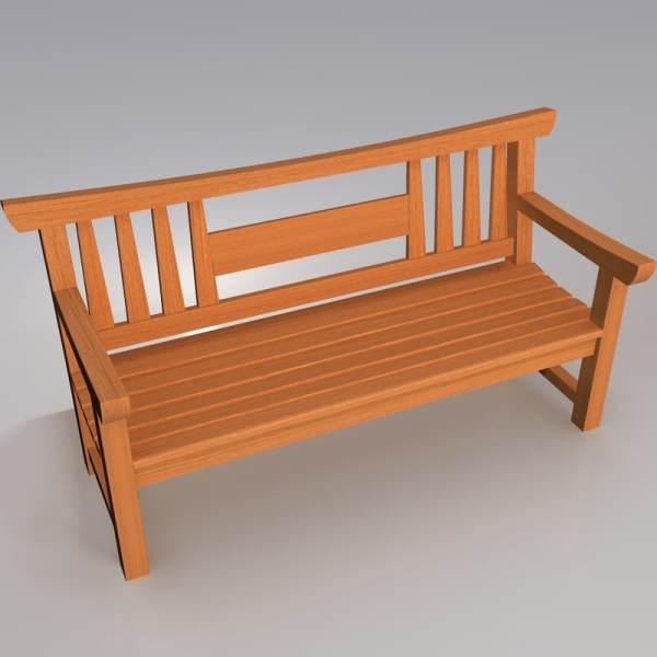 3d Model Stone Bench Turbosquid 1172633 - Year of Clean Water