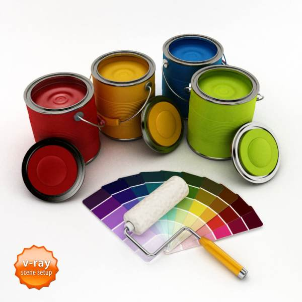 Can Painting Paint Supplies