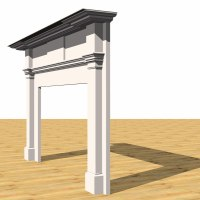 Building Other Fireplace Mantel Historical