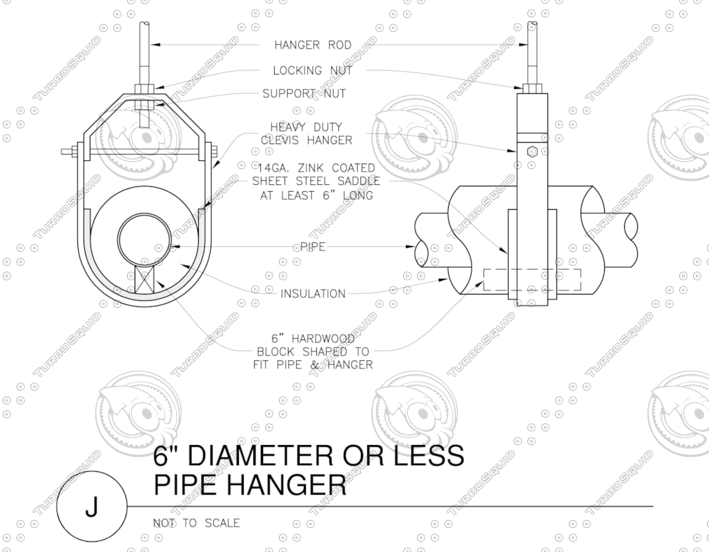 Building Other pipe hanger 6