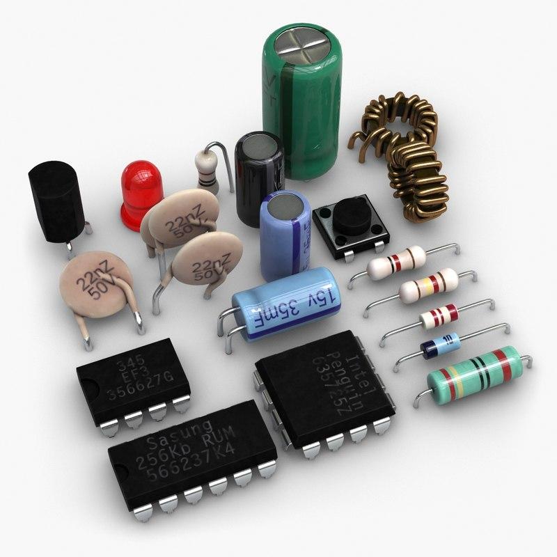 3d Generic Electronic Circuit Board Stock Photo Image 36911660