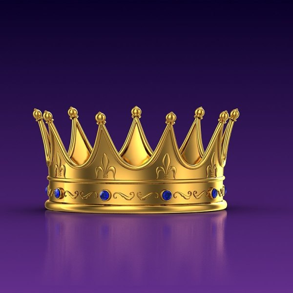 Golden Crown 3d Fbx