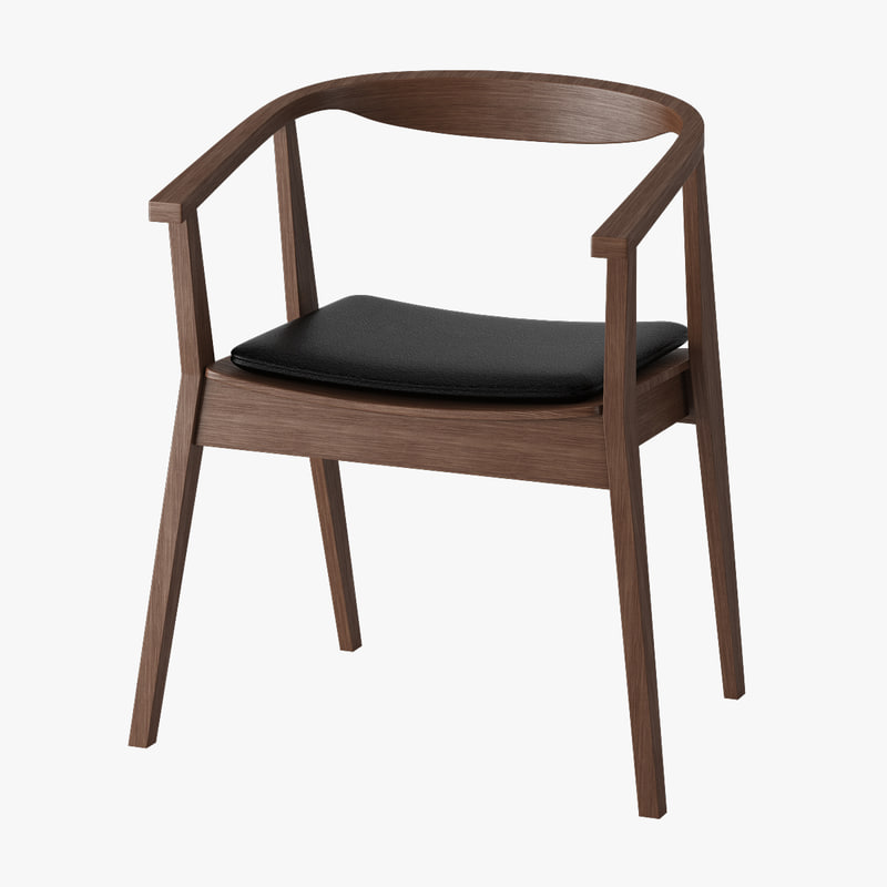 Ikea Stockholm Armchair 3d Model