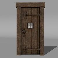 Medieval Door & Door Entrance Medieval ...